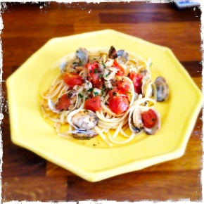 Linguine with Vongole