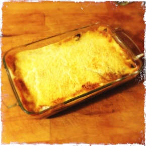 Moussaka ready!